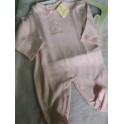 Pijama cuello 3 meses pajaritos