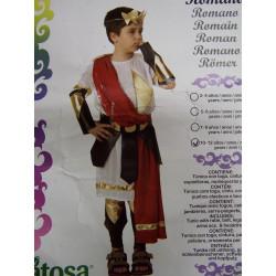 Disfraz romano 10 años
