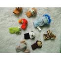 9 marionetas de dedo segunda mano