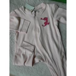 Pijama rosa 3 meses