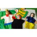 Marionetas de  Blancanieves. Segunda mano