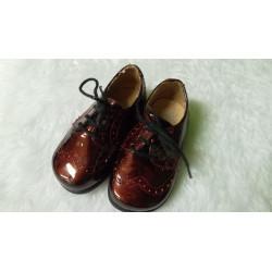 Zapato burdeos T19