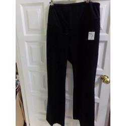 Pantalón premamá negro T50