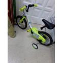 "Bicicleta practicamente sin uso. 14"""
