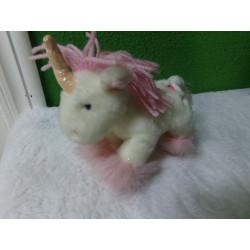 Peluche unicornio 19 cm
