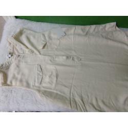 Camiseta talla S embarazo beig
