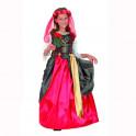 Disfraz dama renacentista talla 5 años. Segunda mano
