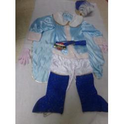 Disfraz principe azul 6 años. Segunda mano