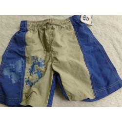 Bermuda jeans rayas