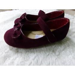 Zapatos burdeos talla 27