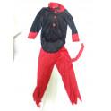 Disfraz de demonio talla 3-5 años. Segunda mano