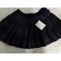 Falda cuadros 3-4 años