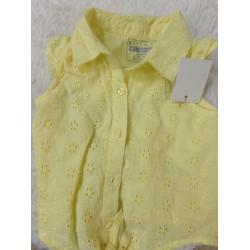 Camisa amarilla 9-12 meses