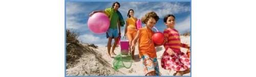 Para la playa, piscina o actividades al aire libre