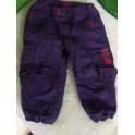Pantalón violeta Quechua 9-12 meses