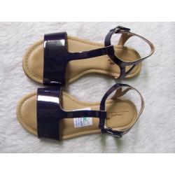 Sandalia azul marino T31 segunda mano