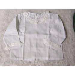 Blusa 6 meses blanca