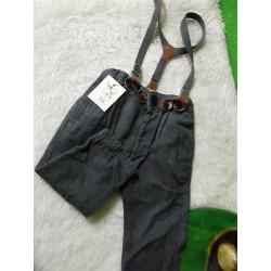 Pantalón con tirantes Zara 6-9 meses