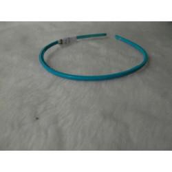 Diadema fina azul claro