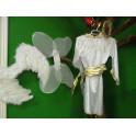 Disfraz de angel para niña. Segunda mano