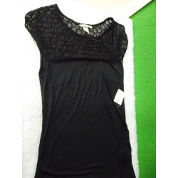 Camiseta negra talla M embarazo