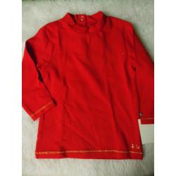 Camiseta básica orchestra roja 12 meses