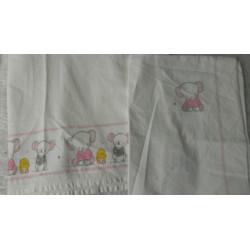 Triptico de sábanas moisés o minicuna
