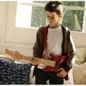 Guitarra eléctrica Imaginarium, le falta una cuerda y la pua