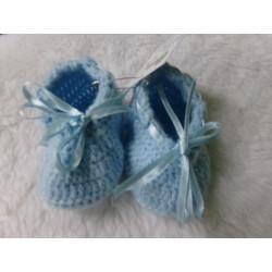 Patucos azules