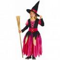 Disfraz de bruja. Talla 2 años. Segunda mano