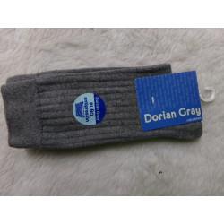 Calcetines grises talla 10 36-37