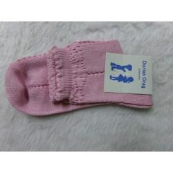 Calcetines rosas talla 8 32-34