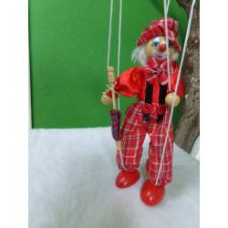 Marioneta payaso. Segunda mano