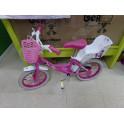 """Bici 14 """" minnie mouse con portamuñecas"""