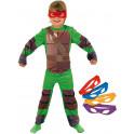 Disfraz de Tortugas Ninja classic para niño 7-8 AÑOS