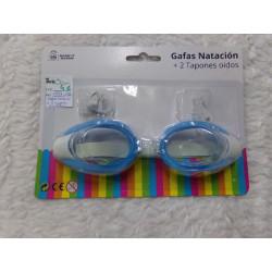 Gafas de natación con tapones. A estrenar