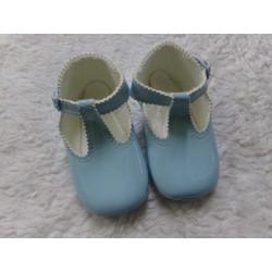 Zapato blando azul 18-19