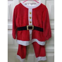Traje Papa Noel 3-4 años