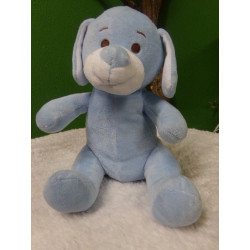 Perrito azul 25 cm