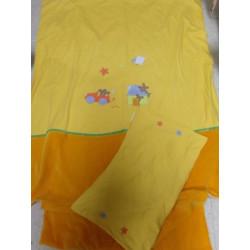 Funda nórdica y funda almohada para cuna a estremar