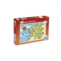 Puzzle de Galicia 350 piezas. A estrenar