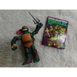Figura de la Tortuga Ninja Raphael 12 cm. Segunda mano