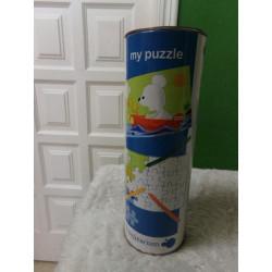 Puzzle para pintar. A estrenar