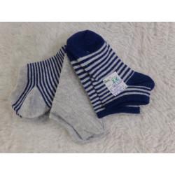 3 pares de calcetines. 23-26. Sin uso