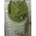 Saco de silla de invierno verde