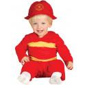 Disfraz de bombero 12 - 24 meses