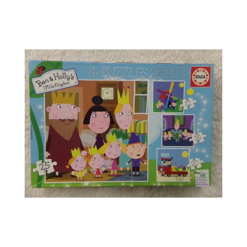 Puzzle Ben y Holly