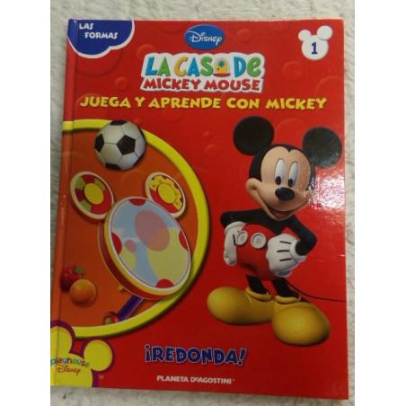 La casa de mickey mouse - las formas