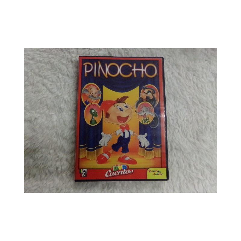 DVD Pinocho. Segunda mano