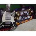 Guitarra y batería. Segunda mano